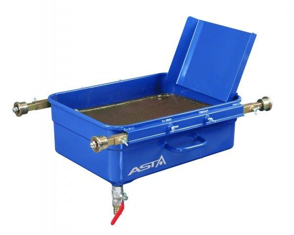 Záchytná vana na olej, pro montážní jámy, objem 65 litrů - ASTA