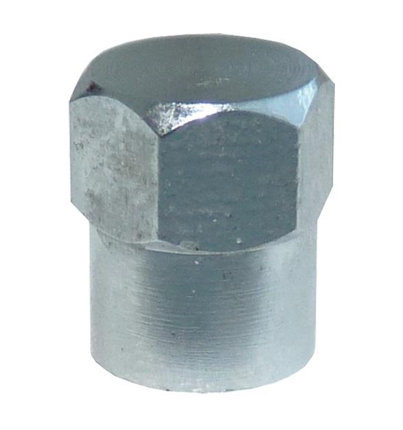 Ventilová čepička CT kovová, chromovaná - 1 kus - Ferdus 11.151