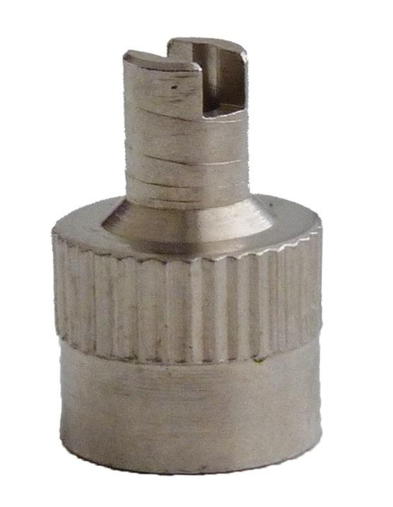 Ventilová čepička GP3-04 (V-51) kovová - 1 kus - Ferdus 11.02