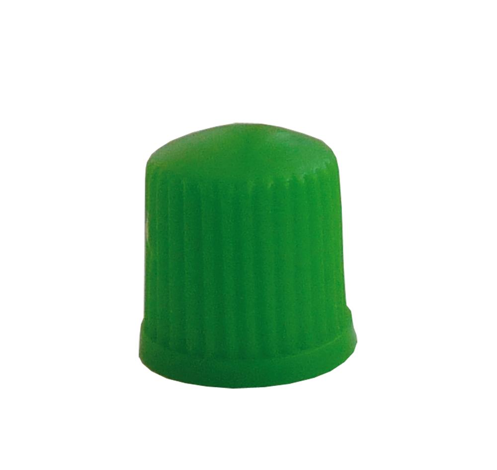 Ventilová čepička GP3a-05, zelená - 1 kus - Ferdus 11.152