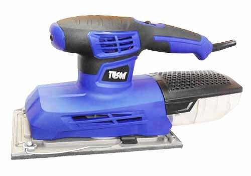 Vibrační bruska 300 W, 115 x 230 mm, s odsáváním - TUSON 130052