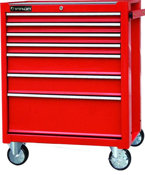 Víceúčelový 7 zásuvkový montážní vozík TBR 3007-X