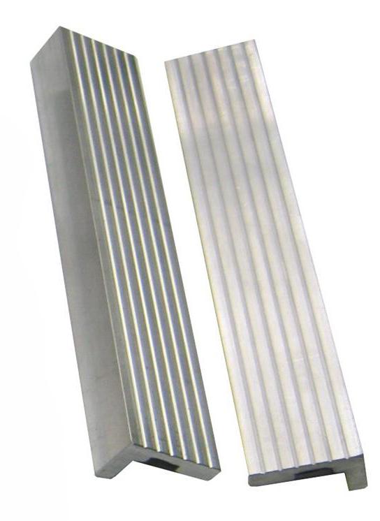 Vložky do čelistí svěráku 100 mm, hliníkové, 2 ks - YORK
