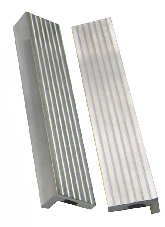 Vložky do čelistí dílenských svěráků hliníkové, různé rozměry - YORK