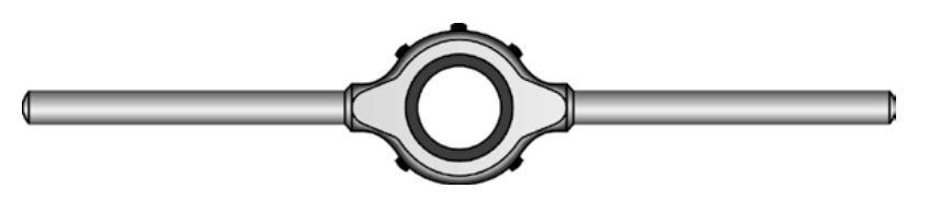 Vratidla pro závitová očka, různé průměry, ČSN 24 1520 - Bučovice Tools
