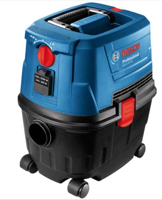 Vysavač Bosch GAS 15 PS Professional, na suché a mokré vysávání - 06019E5100