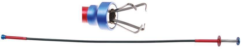 Vytahovák předmětů ohebný s magnetem, délka 700 mm- BGS 3094