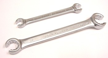 Očkový klíč na převlečné matice 8 x 9 mm šestihran - JONNESWAY W240809