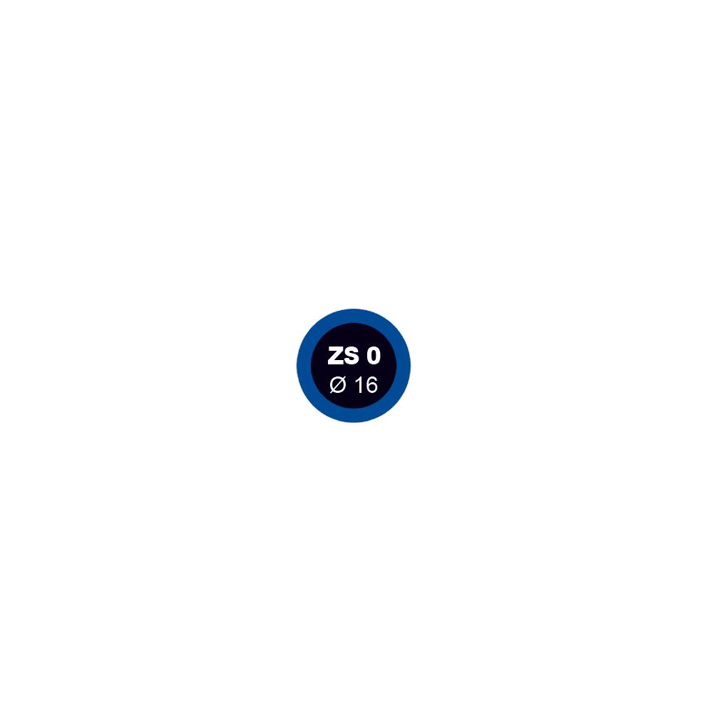 Záplata ZS 0 na opravu duší průměr 16 mm - 1 kus - Ferdus 1.14
