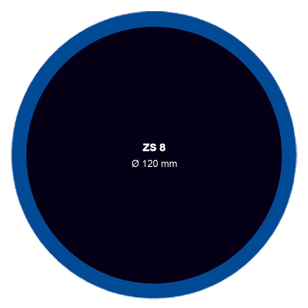 Záplata ZS 8 na opravu duší průměr 120 mm - 1 kus - Ferdus 1.16