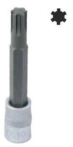 """Zástrčná hlavice RIBE, 1/2"""", velikost M13, délka 100 mm - JONNESWAY S63H4313"""
