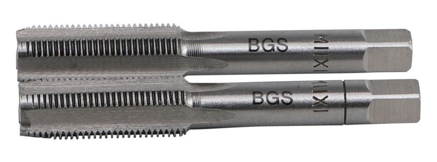 Závitníky M11 x 1.25, předřezávací a dokončovací, 2 ks - BGS 1900-M11X1.25-B