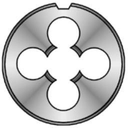 Závitové očko M1,1x0,25 HSS levé, DIN EN 22 568