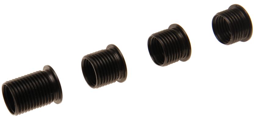 Závitové vložky M12x1,25, různé délky, náhradní sada k BGS 166, 4 kusy - BGS 166-1