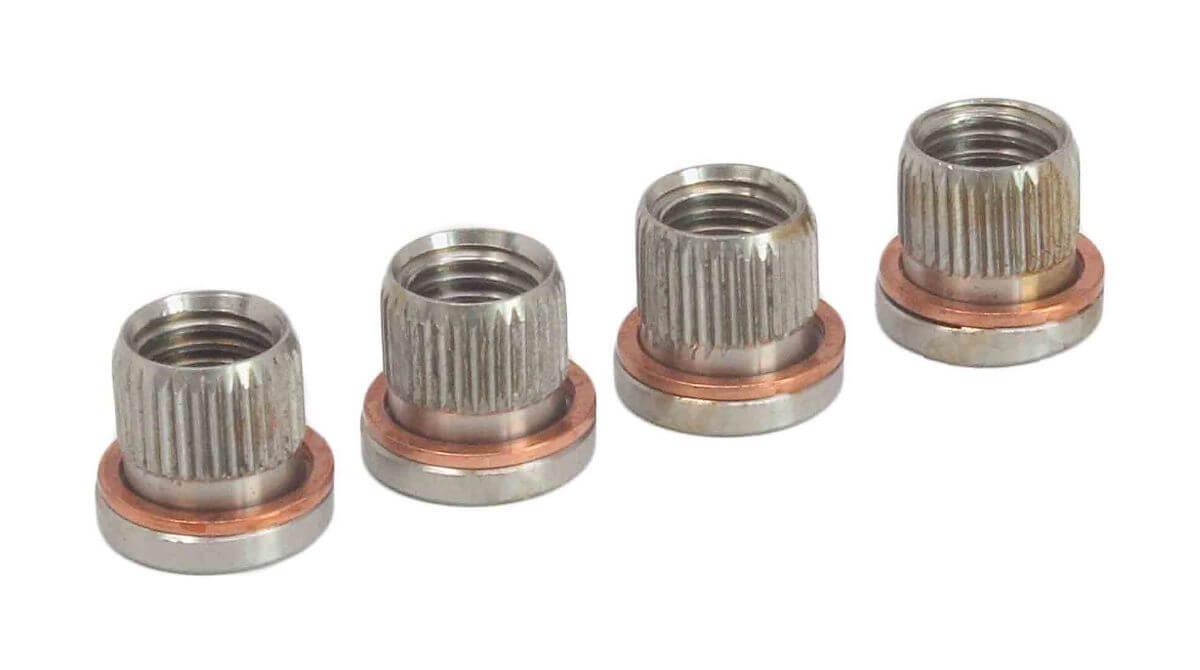 Závitové vložky M9 x 1.25, pro opravu závitů vodítek brzdičů VAG, Opel, Ford, 10 ks - ASTA