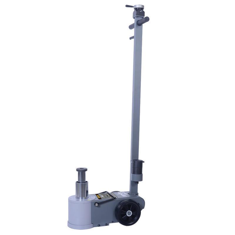 Zvedák pneumaticko-hydraulický S30-2E, 30/15t, pojízdný, dvoupístový