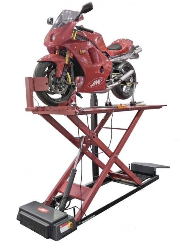 Zvedák nůžkový na motocykly, elektrohydraulický, nosnost 500 kg - LUX 500 EH