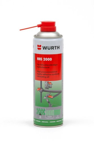 Přilnavé mazivo 500ml Wurth HHS-2000